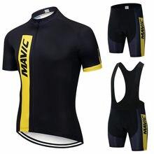 Mavic-equipo de Ciclismo profesional para Hombre Ropa de carreras de secado rápido, Maillot, novedad de 2021