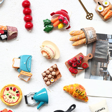 Premium Cartoon Strong Fridge Magnets 3D Food Coffee Refrigerator Magnets for Home Decoration,Whiteboard Kitchen