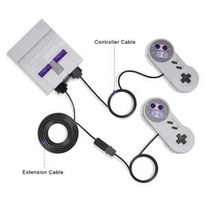 Image 5 - IVYUEEN 2 חבילה 3M 10ft / 1.8M 5.9FT הארכת כבל עבור NES עבור SNES קלאסי מיני קונסולת בקר כבלי Extender