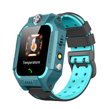 Kids Smart Watch Phone Call Waterproof Thermometer Wristwatch GPS Locator -MX8