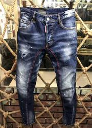 Классические ретро джинсы DSQ vaqueros rasgados para pantalones vaqueros motoristas prendas de vestir hombre Pantalones A177