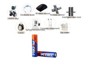 Image 5 - 24 個/カード PKCELL LR03 AAA 1.5V アルカリ電池を使用して単一の電子 thermogun 、懐中電灯、時計、リモコン制御
