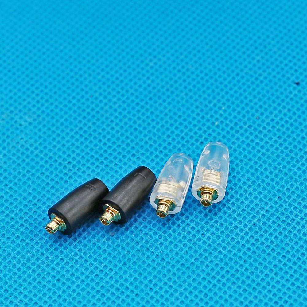 Universal MMCX Pin Expansion Plug Pin DIY MMCX Headphone Male Plug Port 2 Pairs