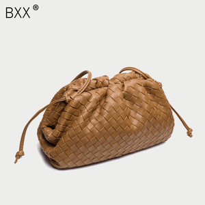 [BXX] Woven Genuine Leather Sh
