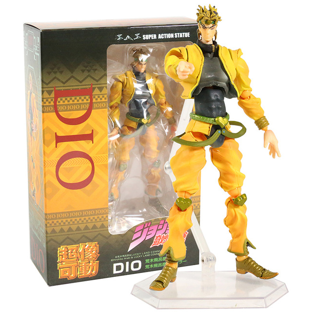 Stardust Crusaders DIO PVC Action Figure Collectible Model Toy 1
