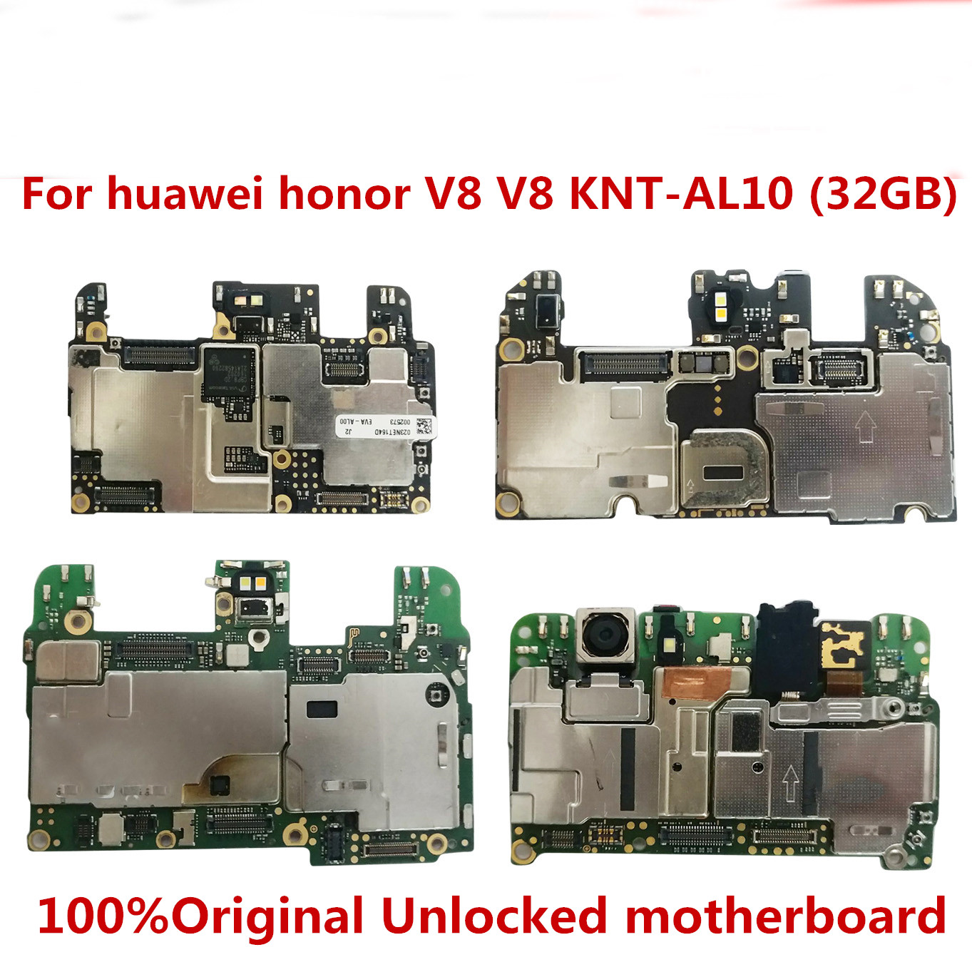 Full Working 100%Original Unlocked for huawei honor V8 KNT-AL10 32GB  motherboard  Logic Mother Circuit Board Plate