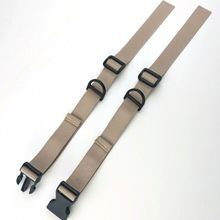 Sternum Backpack Chest-Harness Strap Nylon with Quick-D Clip-Replacement Webbing Anti-Slip-Tape