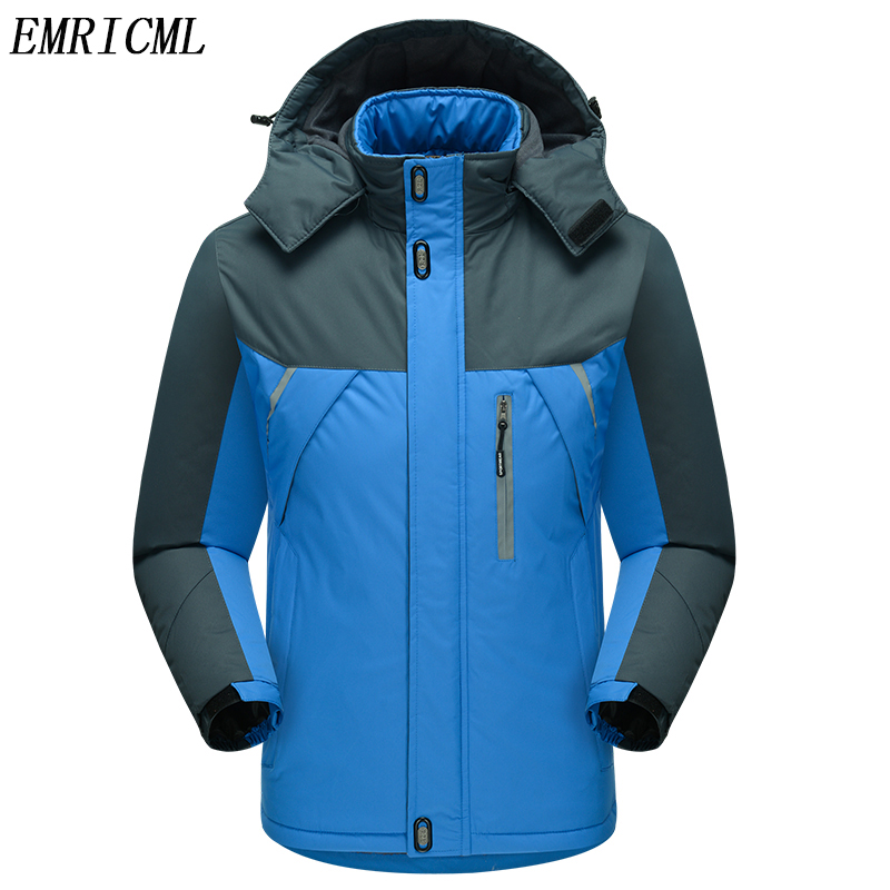 Men Spring And Autumn Coat Outdoor Jacket Windproof Waterproof Coat Mountaineering Hooded Jacket Windbreaker Winter Jacket Men