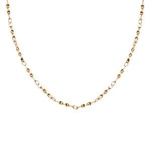 Новинка 2021, модный чокер золотого цвета из нержавеющей стали, ожерелья для женщин, простая бижутерия, подарок, оптовая продажа, спиральная в...