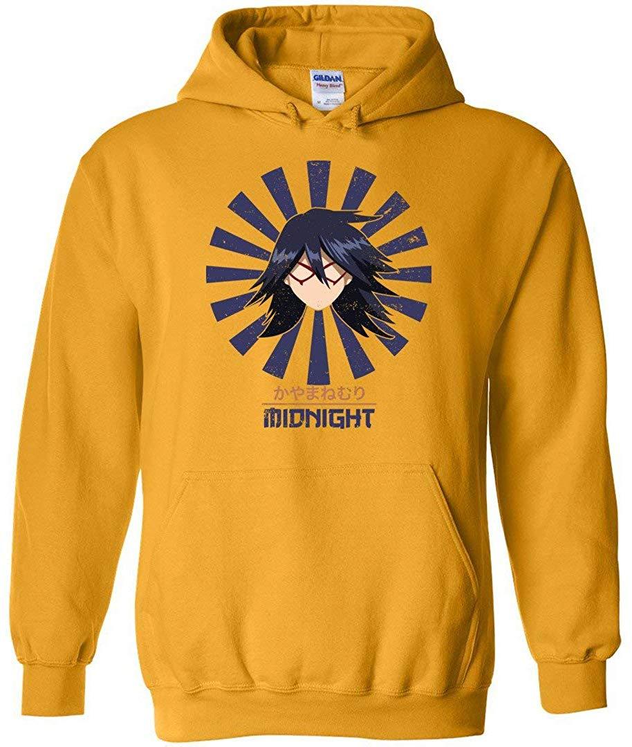 Nemuri Kayama Midnight Vintage Art - My Hero Academia Inspired Unisex Pullover Hoodie Men/Women Men Women Hoodie Sweatshirt