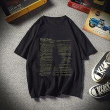 Hamilton Plus Big Size New Casual 3D Printed T Shirt Men Sho