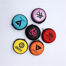 Kpop TWICE GOT7 Seventeen earphone case headphone phone cable storage box good q