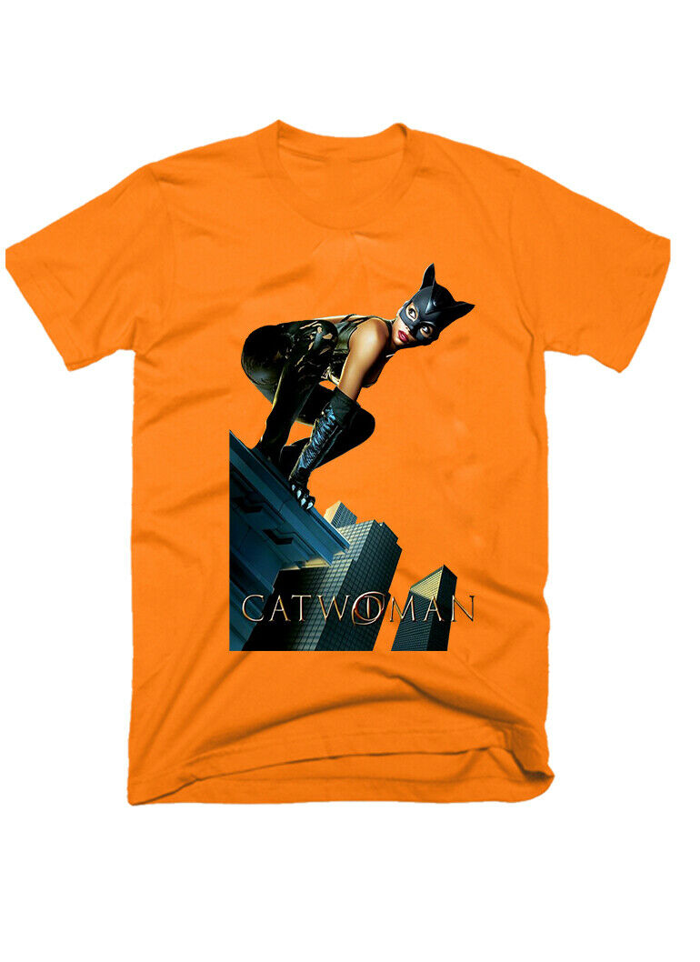 Catwoman Old Movie Fantasy 2004 Sizes S 5Xl 100 Cotton Mens T Shirt G0350 image