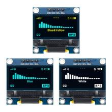 "4pin 0,9"" белый/синий/желтый синий 0,96 дюймов OLED 128X64 OLED дисплей модуль 0,96"" IIC IEC связь для arduino"