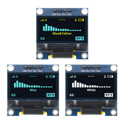 4pin 0,96 белый/синий/желтый синий 0,96 дюймов OLED 128X64 OLED дисплей модуль 0,96 IIC IEC связь для arduino