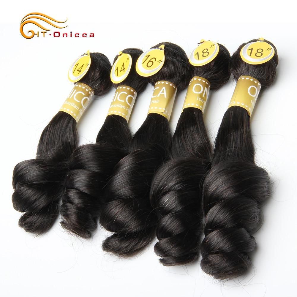 Funmi Hair Double Drawn 5pcs/Lot Egg Curl  Hair  Flexi /Pissy /Pixie Spring Curl   Bundles 5