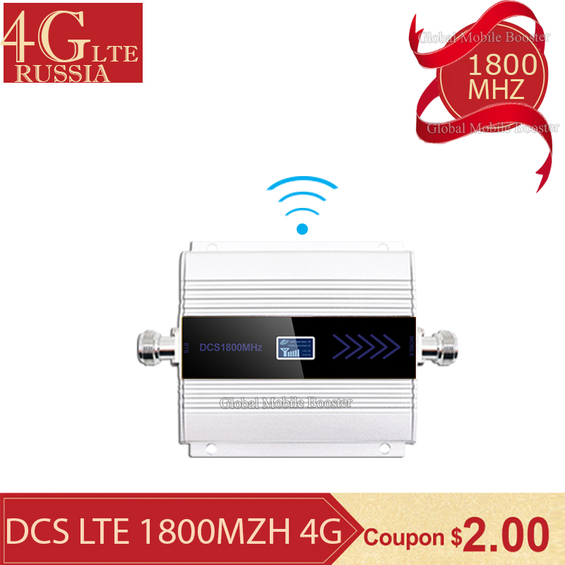 Repeater 4g 1800 Gsm Repeater 1800 2g 4g 1800mhz GSM Mobile Signal Booster 4g Signal Booster 1800 Dcs Cellular Cell Phone
