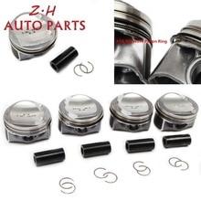 NEW ATG EA888 Modified Engine Piston & Ring Kit 06K 107 065 G For Audi A4 TT VW Passat Jetta  1.8TSI 06J198151B Pin 23mm