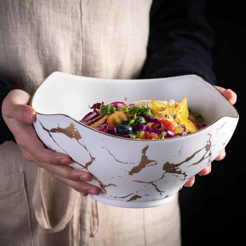 Bol ø 30x6 cm salade de fruits