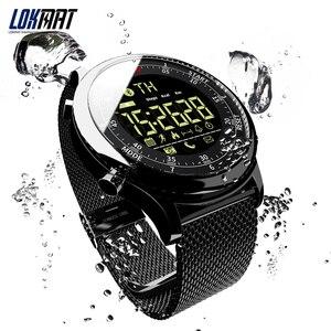 Image 3 - LOKMAT Bluetooth חכם שעון עמיד למים ספורט גברים דיגיטלי שעון במיוחד ארוך המתנה שיחת תזכורת Smartwatch עבור Ios ו android