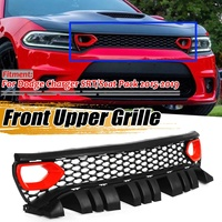 Pack Style SRT/Scat Grill Car Front Bumper Mesh Grille Upper Grill Grille For Dodge For Charger SRT/Scat 2015 2019
