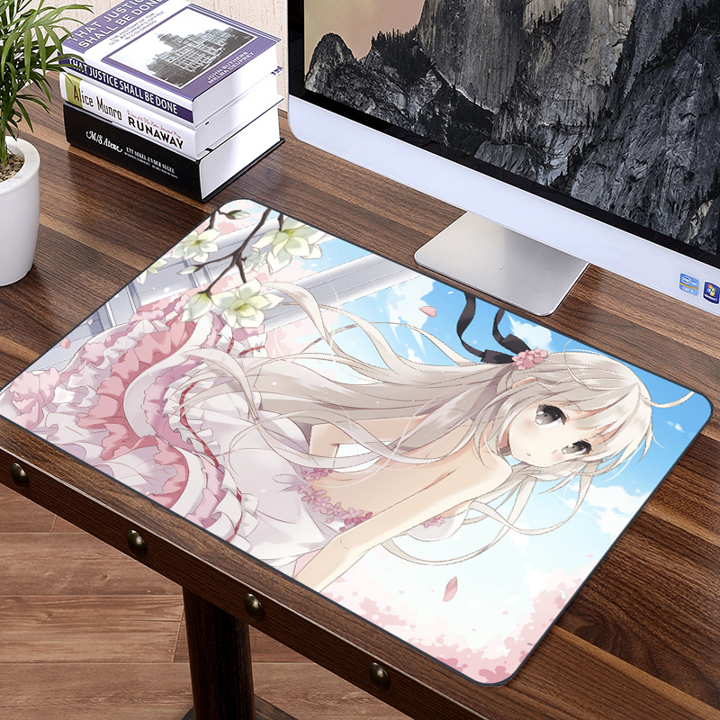 FFFAS 70x40cm Japan <font><b>Anime</b></font> <font><b>Sexy</b></font> Girl Kasugano Sora <font><b>Mouse</b></font> <font><b>Pad</b></font> Mat XXL Big Size Mousepad for Keyboard Compute Notebook image