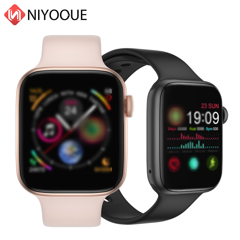 IWO 8 Pro Full Touch Smart Watch Heart Rate Bluetooth Call Music Fitness Tracker For Apple IPhone Android Phone  Pk P70 S226