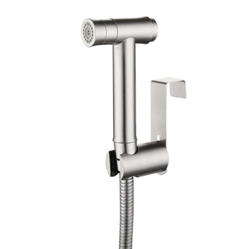 Multi-function HandHeld Toilet Shower Head Bidet Sprayer Head Shattaf White