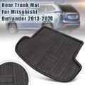 Автомобильный задний багажник Грузовой коврик загрузочный лайнер лоток коврики для Mitsubishi Outlander 2013 2014 2015-2020 пол лист ковер грязевая защитная...