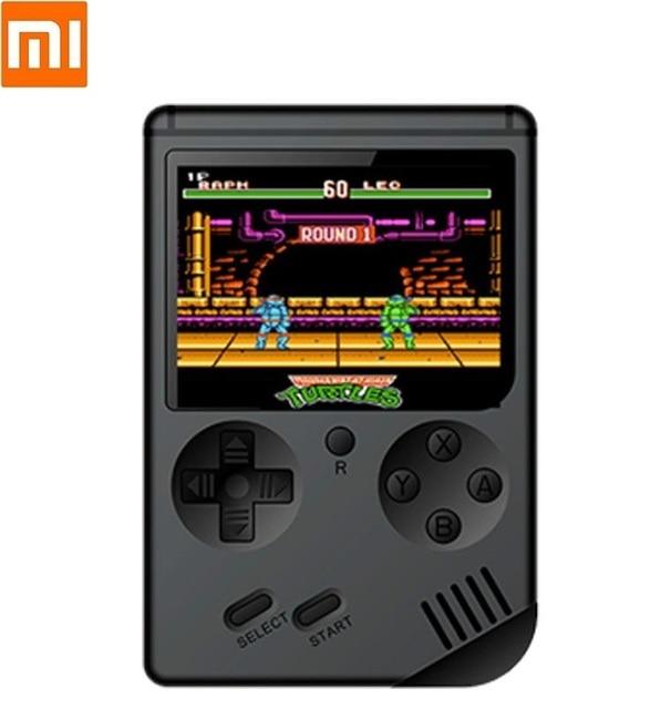Yeni taşınabilir Mini el oyun renk LCD çocuklar renk oyun NES elde kullanılır oyun konsolu oynatıcı dahili 168 oyunları