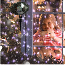 Christmas Projector Lights Outdoor LED Snowflake Waterproof Snowfall Projection with Wireless Remote Snow Flurries
