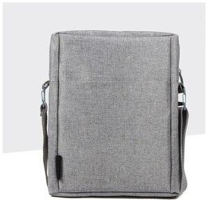 Image 5 - CAI 32cm Mannen Messenger Schoudertas Laptop Boek Aktetas voor iPad Tablet Handtas School Office Tassen Crossbody Sling Tote