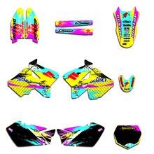 Equipo gráfico etiqueta pegatina Deco Dekor Kits para Suzuki RM125 RM250 125 RM 250, 2001 02 03 06 07 04 05 08 09 10 2011 de 2012