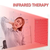 Health Care 45W Infrared Therapy Pain Relief Red Led Light Neck Massage Skin Relax Body Shoulder Back Heating Lamp Physiotherapy