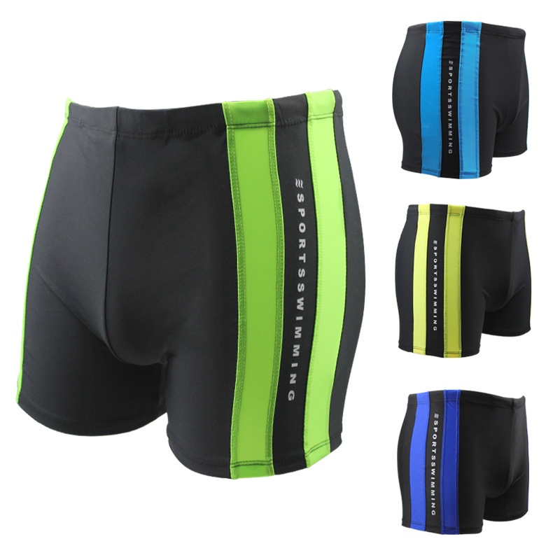 Hot Selling Men's Beach Swimming Trunks 18 New Products Quick-Dry Breathable Beach Shorts Adjustable Auxiliary Bracing Hot Sprin