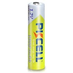 Image 5 - 8 adet PKCELL AAA pil 1.2V Ni MH AAA şarj edilebilir pil 1000MAH piller 3A Bateria Baterias 2 adet AAA/AA pil tutucu