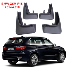 For BMW X5M F15 2014-2018 Car Fenders Mud Flaps Mudguards Splash Guards 4 Pcs/Set цена и фото