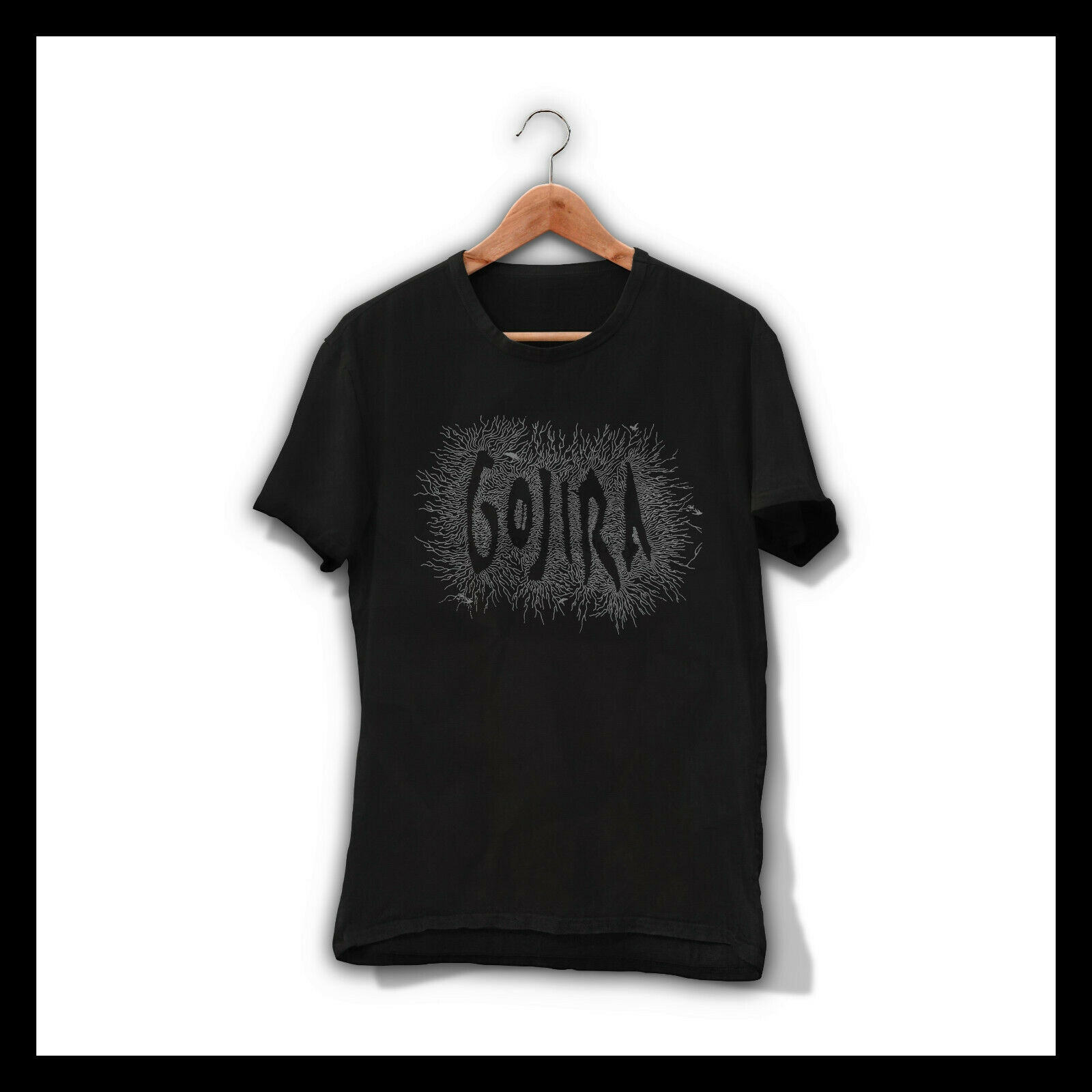 Official T Shirt Black GOJIRA Heavy Metal /'Snake Crown/'  All Sizes