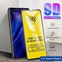 Полное покрытие из закаленного стекла для Xiaomi Redmi 7 7A 6 6A K20 Pro 5 Plus Redmi Note 5 5A 6 7 pro Защитная пленка для экрана