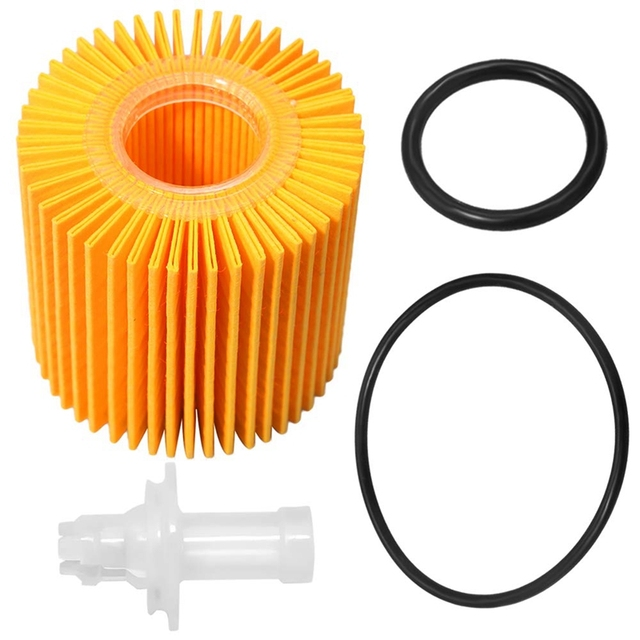04152-YZZA1 Oil Filter Kit for Toyota Avalon Camry RAV4 Sienna for Lexus ES300H ES350 IS200T RX350 RX450H (Pack of 3)