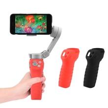 DJI OM 4 Osmo Mobile 3 실리콘 케이스 핸들 짐벌 소프트 안티 스크래치 커버 미끄럼 방지 슬리브 프로텍터 안정기 액세서리