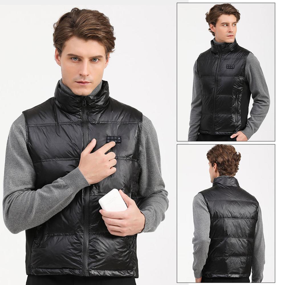 USB осень зима электричество обогрев жилет пух куртка многофункциональный обогреватель жилет здоровье уход костюм теплый жилет USB жилет пух куртка