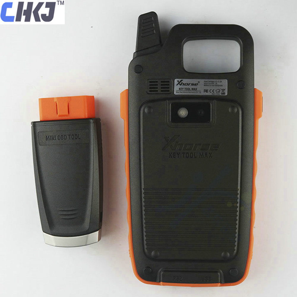 CHKJ Chinese Version Xhorse VVDI Key Tool Max Remote Programmer Support Work With Condor Dolphin XP005 Bluetooth OBD Matching