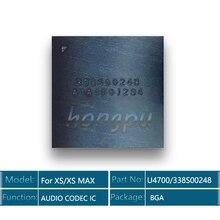 5pcs/lot 338S00248/U4700 for iPhone XS/XR/XS MAX Big Audio Codec IC chip Sound Controller Speaker
