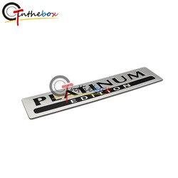 GTinthebox 1X Aluminum PLATINUM EDITION for Special Limited Pathfinder Emblem Badge Sticker
