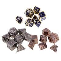 21x Polyhedral Digital Dice Set D4 D20 Dies For TRPG MTG DND Card Game Toys