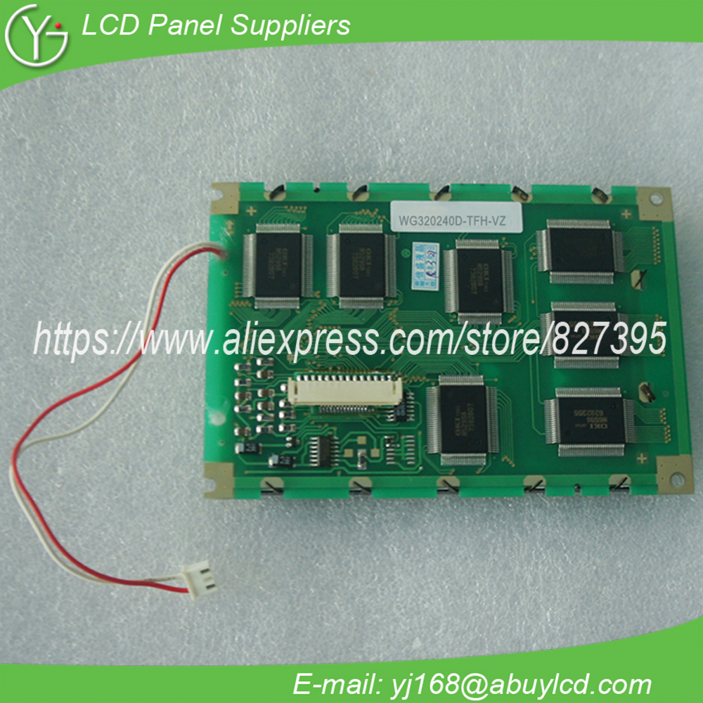 WG320240D TFH VZ 5.7 320*240 LCD Screen WG320240D SFK NZ#000-in LCD Modules from Electronic Components & Supplies