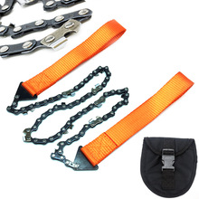 Portable Survival Chainsaw Emergency Outdoor Camping Hiking Wood Cutting Tool