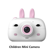Children Mini Camera 2.4inch Screen Display 18MP Front Rear Dual Cameras Kids Ca