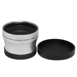 Image 2 - NEWYI High Resolution Camera Camcorder Lens 40.5mm 0.45X WIDE Angle + Macro Conversion LENS 40.5 0.45 Silver